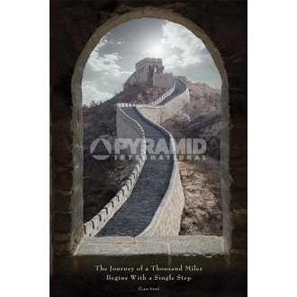 affiche Journey Of A Mille Miles - de pyramides Affiches, PYRAMID POSTERS