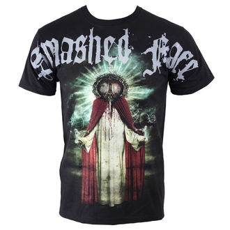 tee-shirt métal pour hommes Smashed Face - Misanthropocentric - NNM - Black, NNM, Smashed Face