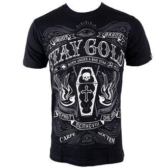 t-shirt hardcore pour hommes - Stay Gold - LIQUOR BRAND, LIQUOR BRAND