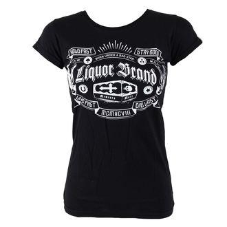 t-shirt hardcore pour femmes - Coffin - LIQUOR BRAND, LIQUOR BRAND