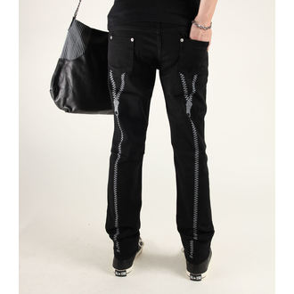 pantalon pour femmes 3RDAND56th - Zip Back Skinny Jeans, 3RDAND56th