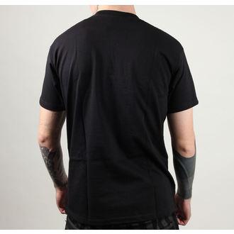 tee-shirt street pour hommes - Skull Bitch - BLACK HEART - 001-0001-BLK