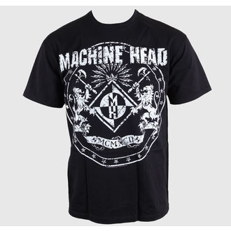 tee-shirt métal pour hommes Machine Head - Classic Crest - ROCK OFF, ROCK OFF, Machine Head