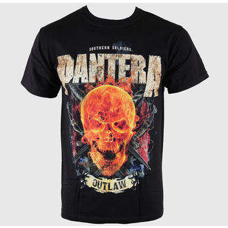 tee-shirt métal pour hommes Pantera - Outlaw Skull - BRAVADO, BRAVADO, Pantera