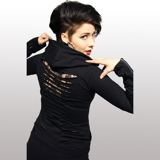 sweat-shirt avec capuche pour femmes - Ricochet - VIXXSIN, VIXXSIN