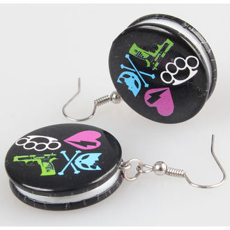 boucless d`oreilles POIZEN INDUSTRIES - BBKB Disc, BYE BYE KITTY