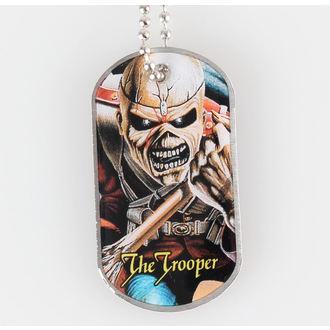 Collier (plaque) IRON MAIDEN - The Trooper - RAZAMATAZ, RAZAMATAZ, Iron Maiden