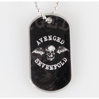 collier (chien étiquette) Avenged Sevenfold - Death Bat - RAZAMATAZ, RAZAMATAZ, Avenged Sevenfold