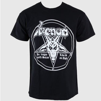 tee-shirt métal pour hommes Venom - In League With Satan - RAZAMATAZ, RAZAMATAZ, Venom