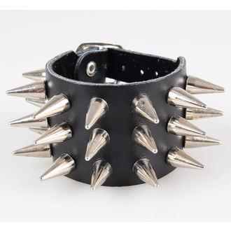 bracelet pointes 3, BLACK & METAL