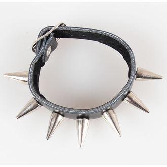 bracelet pointes 1, BLACK & METAL