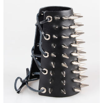 bracelet pointes 9, BLACK & METAL
