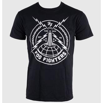 tee-shirt métal pour hommes Foo Fighters - Black Strike - LIVE NATION, LIVE NATION, Foo Fighters
