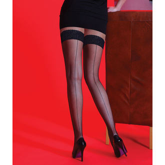 collants collants - Scarlet - BKSEAM Fishnet LT Oups, LEGWEAR