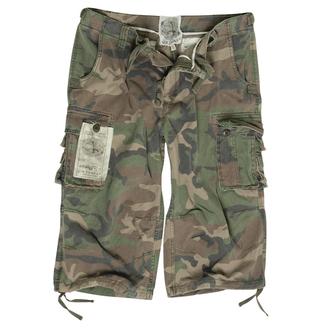 short pour hommes 3/4 MIL-TEC - Air Combat - Prewash Woodland, MIL-TEC