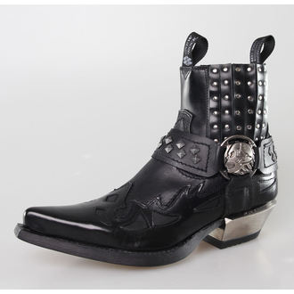 bottes en cuir pour femmes - ARTIC NEGRO, ITALI NEGRO, WEST NEGRO-ACERO TACON A - NEW ROCK, NEW ROCK