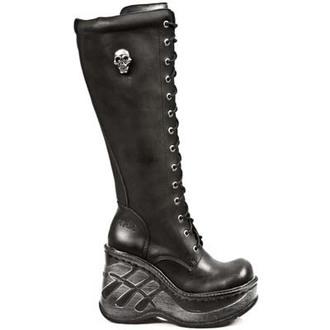 chaussures à semelles compensées pour femmes - ITALI NEGRO - NEW ROCK - M.9811-S10