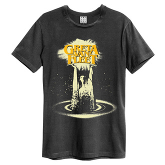 tee-shirt métal pour hommes Greta Van Fleet - CHARCOAL - AMPLIFIED, AMPLIFIED, Greta Van Fleet