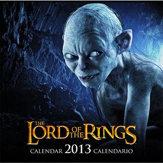 calendrier pour année 2013 Seigneur des anneaux - English & Spanish Version, NNM, Pán prstenů