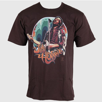 tee-shirt métal pour hommes Jimi Hendrix - Hendrix Groove - LIQUID BLUE, LIQUID BLUE, Jimi Hendrix