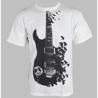 t-shirt pour hommes - Crow Guitar - LIQUID BLUE, LIQUID BLUE