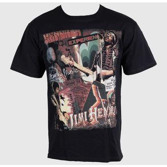 tee-shirt métal pour hommes Jimi Hendrix - Hear My Music - LIQUID BLUE, LIQUID BLUE, Jimi Hendrix