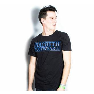 tee-shirt street pour hommes - Embossed - MACBETH, MACBETH