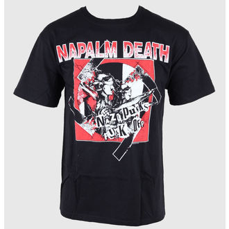 tee-shirt métal pour hommes Napalm Death - - Just Say Rock, Just Say Rock, Napalm Death