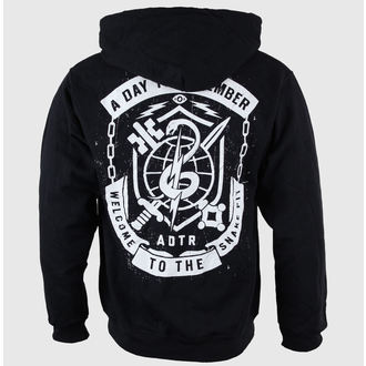 sweat-shirt avec capuche pour hommes A Day to remember - Snake Pit Black - VICTORY RECORDS, VICTORY RECORDS, A Day to remember