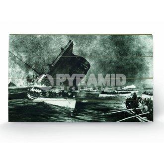 en bois tableau Titanic (13) - de pyramides Affiches, PYRAMID POSTERS