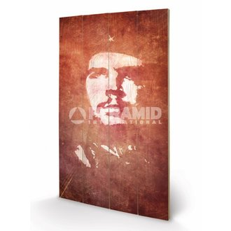 en bois tableau Che Guevara (Exposure) - de pyramides Affiches, PYRAMID POSTERS, Che Guevara