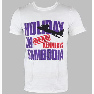 tee-shirt métal pour hommes Dead Kennedys - Cambodia - LIVE NATION, LIVE NATION, Dead Kennedys