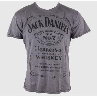 tee-shirt street pour hommes Jack Daniels - Acid Washed - JACK DANIELS, JACK DANIELS