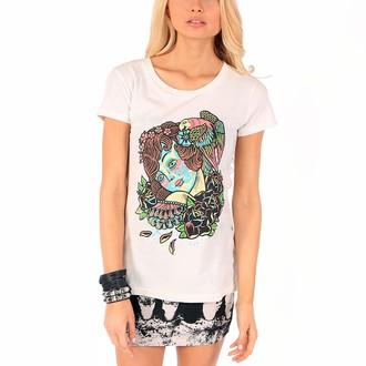 tee-shirt street pour femmes - Tropic Love - IRON FIST - Nude