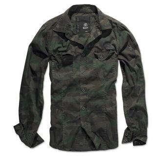 chemise pour hommes BRANDIT - Men chemise Slim - Woodland - 4005/10