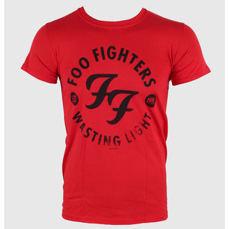 tee-shirt métal pour hommes Foo Fighters - Wasting Time Red - LIVE NATION, LIVE NATION, Foo Fighters