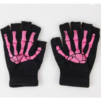 gants mitaines POIZEN INDUSTRIES - BGS Gants - Noir / Rose
