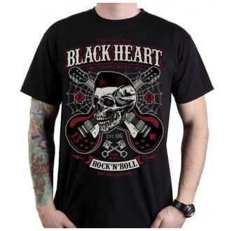 tee-shirt street pour hommes - ROCKABILLY BOY - BLACK HEART, BLACK HEART