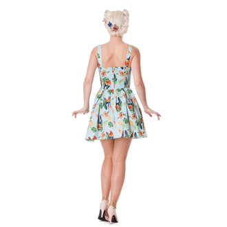 robe pour femmes HELL BUNNY - Becky - Blue, HELL BUNNY