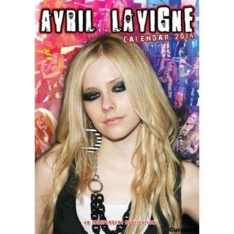 calendrier pour année 2014 Avril Lavigne, Avril Lavigne