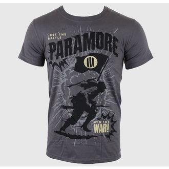 tee-shirt métal pour hommes Paramore - Minifield Charcoal - LIVE NATION, LIVE NATION, Paramore
