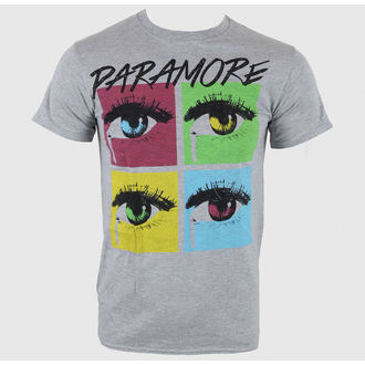 tee-shirt métal pour hommes Paramore - Pop Tear Sports Grey - LIVE NATION, LIVE NATION, Paramore
