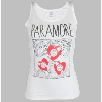débardeur pour femmes Paramore - X Ray Blanc, LIVE NATION, Paramore