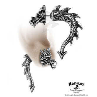 boucless d`oreilles Tor Dragon - ALCHEMY GOTHIC - E324