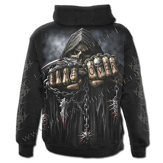 sweat-shirt avec capuche pour hommes - Game Over - SPIRAL - T026M464