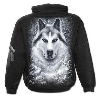 sweat-shirt avec capuche enfants - White Wolf - SPIRAL, SPIRAL