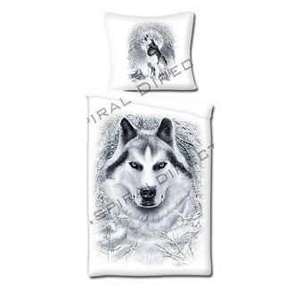 literie SPIRAL - Blanc Wolf
