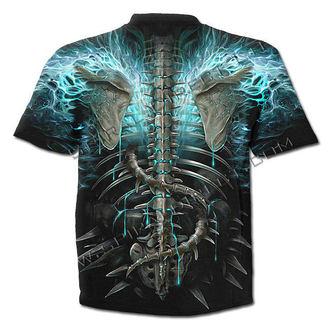 t-shirt pour hommes - Flaming Spine - SPIRAL, SPIRAL