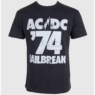 tee-shirt métal pour hommes AC-DC - AC/DC - AMPLIFIED