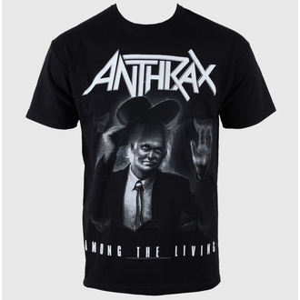 tee-shirt métal pour hommes Anthrax - - ROCK OFF, ROCK OFF, Anthrax